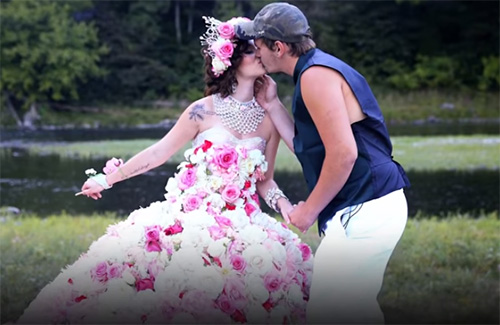 20 Over The Top Gypsy Wedding Dresses You Should See
