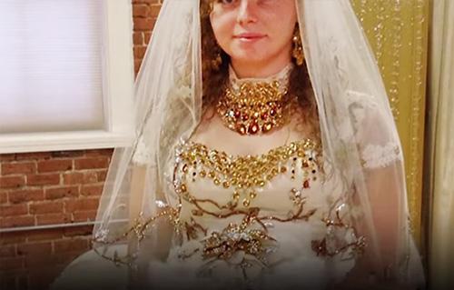 princess jasmine 2019 wedding dress