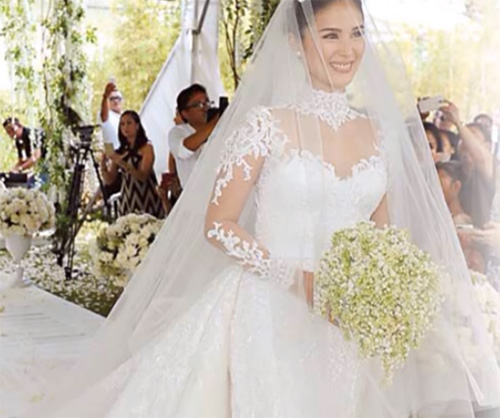 Filipino Celebrities And Their High-priced Wedding Dresses