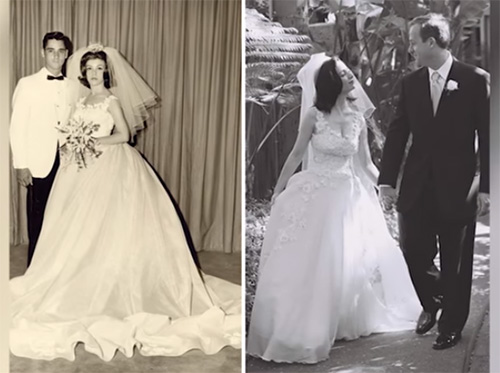 How To Transform Your Mom S Old Wedding Dress Into All The Vogue For Your Own Ceremony